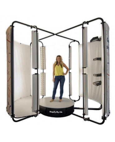 Artec Shapify Booth – Automated 3D Body Scanning Booth
