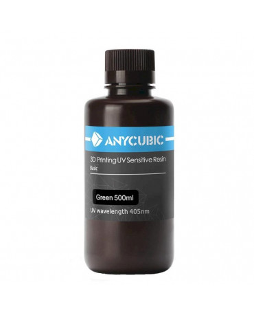 Anycubic 405nm Translucent Green UV Resin - 500ml