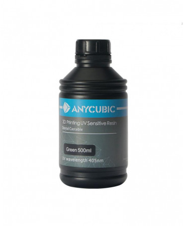 Anycubic 405nm green casting resin - 500ml