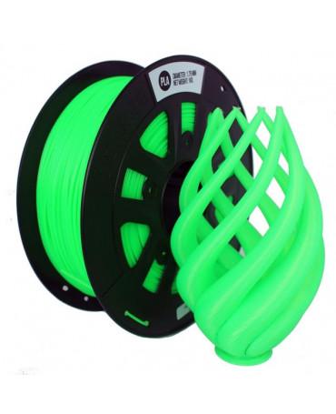 CCTREE 1.75mm Fluorescent Green PLA filament - 1kg