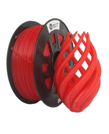 CCTREE 1.75mm Transparent Red PLA filament - 1kg