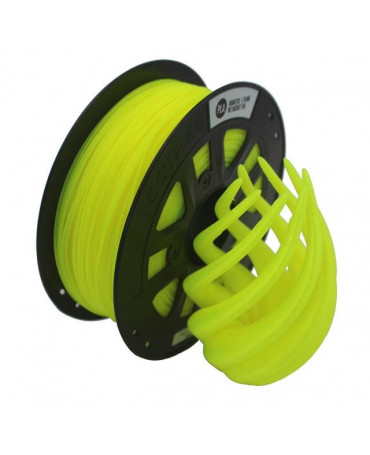 CCTREE 1.75mm Fluorescent Yellow PLA filament - 1kg