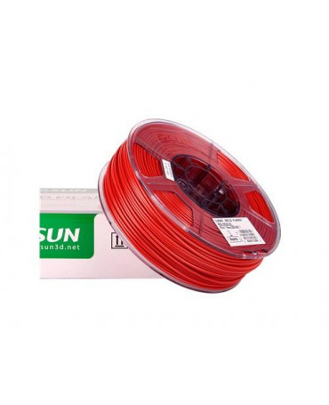 eSUN 3mm (2.85mm) Red ABS filament - 1kg