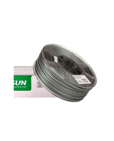 eSUN 3mm (2.85mm) Silver ABS filament - 1kg