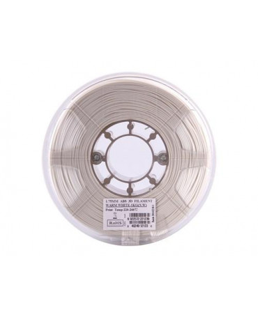 eSUN 1.75mm Warm White ABS filament - 1kg