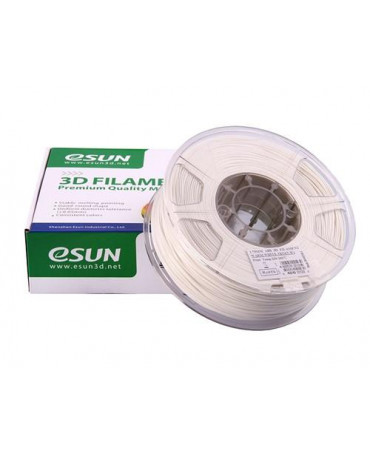 eSUN 3mm (2.85mm) Warm White ABS filament - 1kg