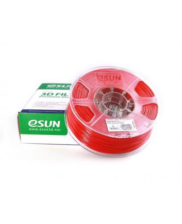 eSUN 3mm (2.85mm) Red ABS+ filament - 1kg
