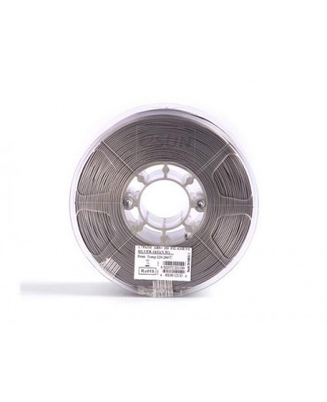 eSUN 1.75mm Silver ABS+ filament - 3kg
