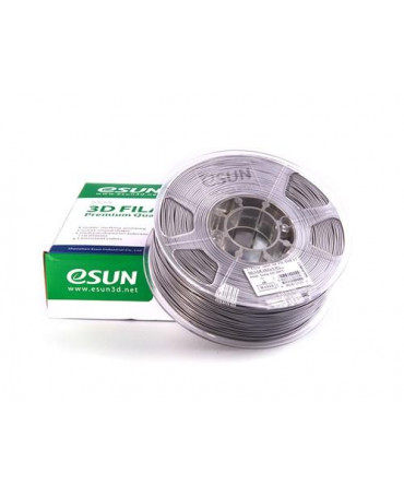 eSUN 3mm (2.85mm) Silver ABS+ filament - 1kg