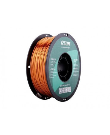 eSUN 1.75mm Copper eSilk PLA filament - 3kg