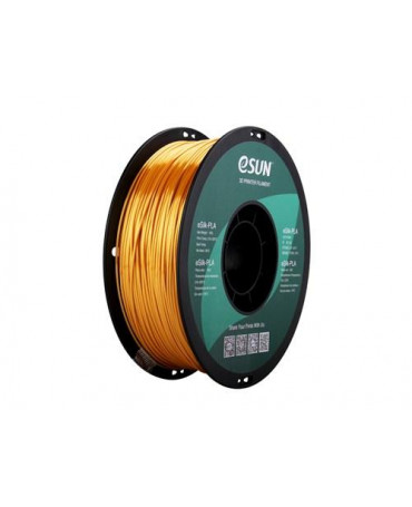 eSUN 1.75mm Gold eSilk PLA filament - 3kg