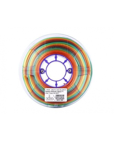 eSUN 1.75mm Rainbow Multicolor eSilk PLA filament - 3kg