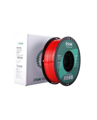 eSUN 3mm (2.85mm) Red eSilk PLA filament - 1kg