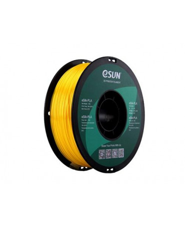 eSUN 1.75mm Yellow eSilk PLA filament - 3kg