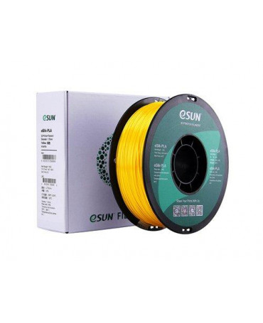 eSUN 3mm (2.85mm) Yellow eSilk PLA filament - 1kg