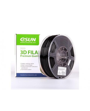 eSUN 3mm (2.85mm) Solid Black PETG filament - 1kg