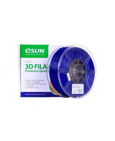 eSUN 3mm (2.85mm) Solid Blue PETG filament - 1kg