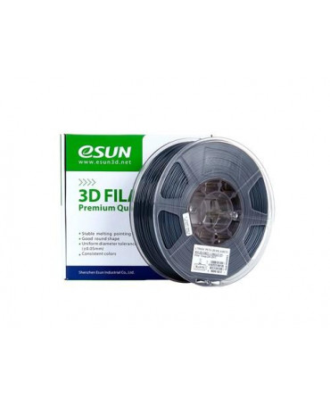 eSUN 3mm (2.85mm) Solid Grey PETG filament - 3kg