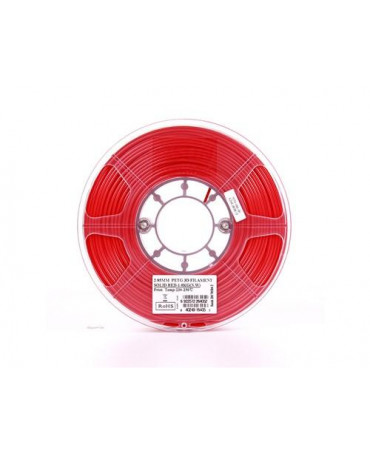 eSUN 1.75mm Solid Red PETG filament - 3kg