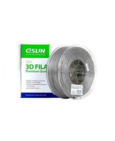 eSUN 3mm (2.85mm) Solid Silver PETG filament - 1kg