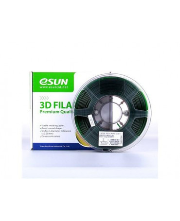eSUN 1.75mm Translucent Green PETG filament - 1kg