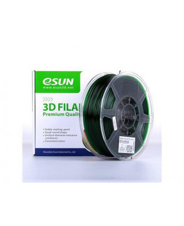 eSUN 3mm (2.85mm) Translucent Green PETG filament - 3kg