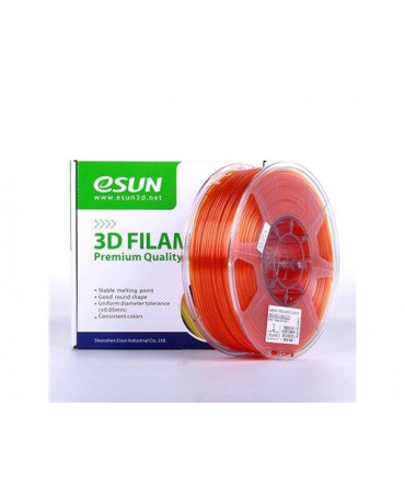 eSUN 3mm (2.85mm) Translucent Orange PETG filament - 3kg