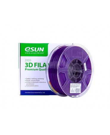 eSUN 3mm (2.85mm) Translucent Purple PETG filament - 1kg