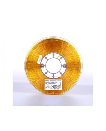 eSUN 1.75mm Translucent Yellow PETG filament - 1kg