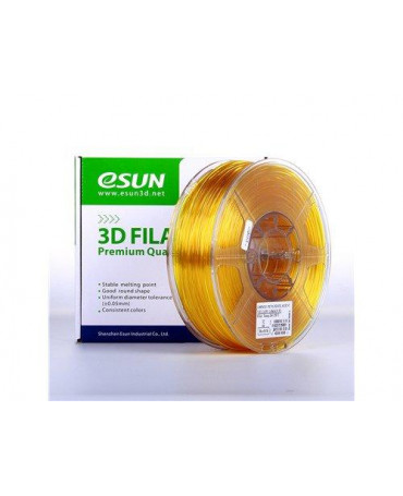 eSUN 3mm (2.85mm) Translucent Yellow PETG filament - 3kg