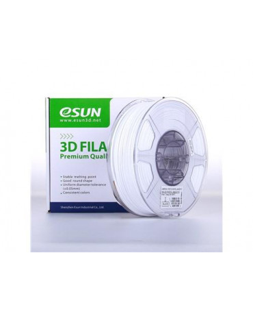 eSUN 3mm (2.85mm) Solid White PETG filament - 1kg
