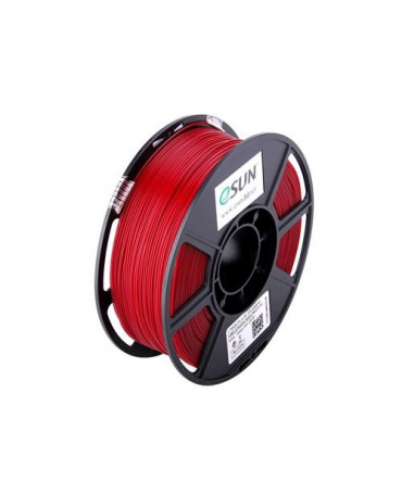eSUN 1.75mm Fire Engine Red PLA filament - 3kg