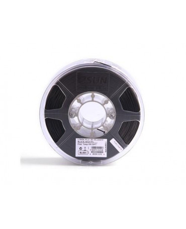 eSUN 1.75mm Black PLA+ filament - 1kg
