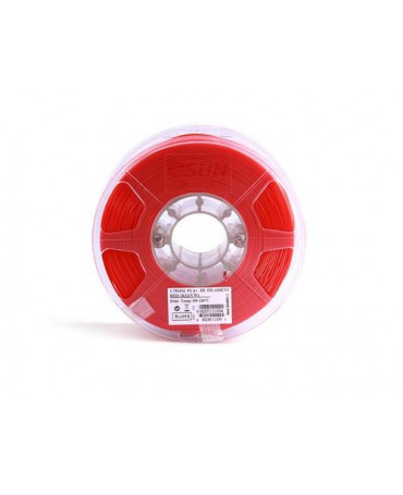 eSUN 1.75mm Red PLA+ filament - 1kg