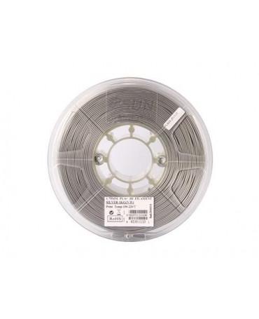 eSUN 1.75mm Silver PLA+ filament - 1kg