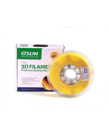 eSUN 3mm (2.85mm) Yellow PLA+ filament - 1kg