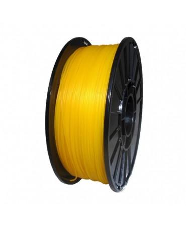 Push Plastic Translucent Amber PETG Filament Spool - 3 / 10 / 25 kg