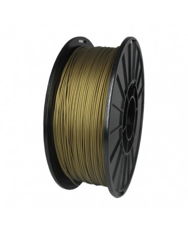 Push Plastic Gold Metallic PLA Filament Spool - 3 / 10 / 25 kg
