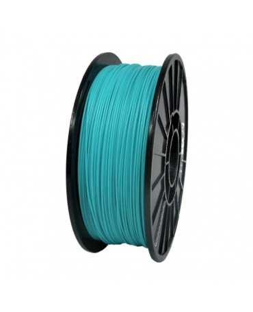 Push Plastic Light Teal ABS Filament Spool - 3 / 10 / 25 kg