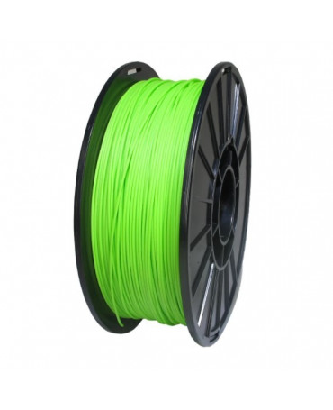 Push Plastic Lime Green PLA Filament Spool - 3 / 10 kg