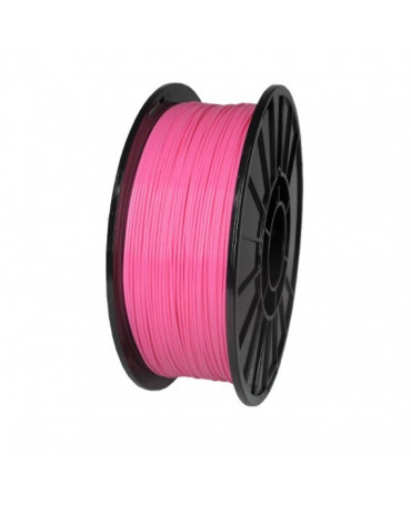 Push Plastic Pink ABS Filament Spool - 3 / 10 / 25 kg