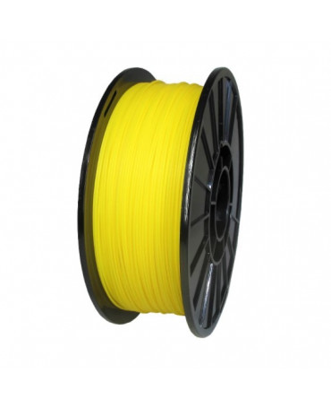 Push Plastic Yellow PETG Filament Spool - 3 / 10 / 25 kg