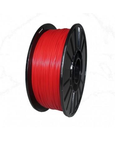 Push Plastic Red ABS Filament Spool - 3 / 10 / 25 kg