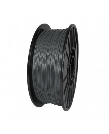 Push Plastic Dark Grey ABS Filament Spool - 3 / 10 / 25 kg
