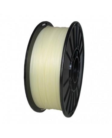 Push Plastic Natural PLA Filament Spool - 3 / 10 / 25 kg