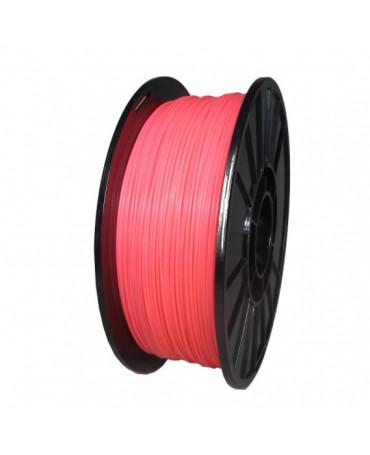 Push Plastic Fluorescent Pink PLA Filament Spool - 3 / 10 / 25 kg