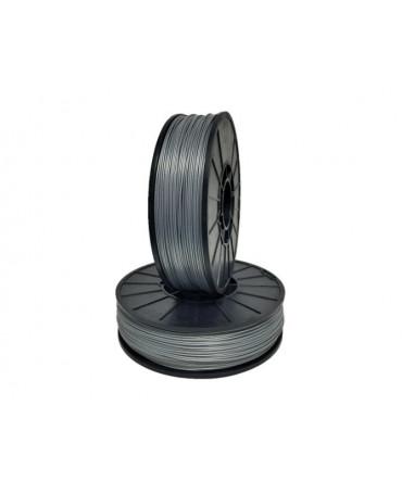 Push Plastic Silver Metallic ASA Filament Spool - 3 kg
