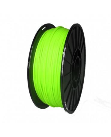Push Plastic Fluorescent Green PLA Filament Spool - 3 / 10 / 25 kg
