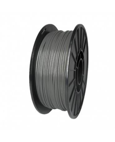 Push Plastic Translucent Grey PLA Filament Spool - 3 / 10 / 25 kg