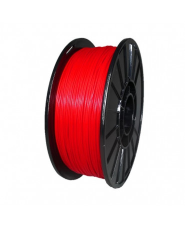 Push Plastic Translucent Red PLA Filament Spool - 3 / 10 / 25 kg